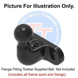 BMW 5 Series Sal  (F10) (Inc. M Sport) 2010 – 2017 Fixed Flange Towbar